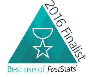 Best use of FastStats Award 2016 - The Finalists