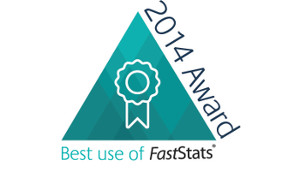 Best use of FastStats Award 2014