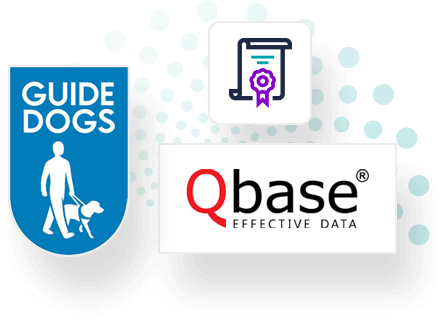 Guide Dogs and Qbase Direct